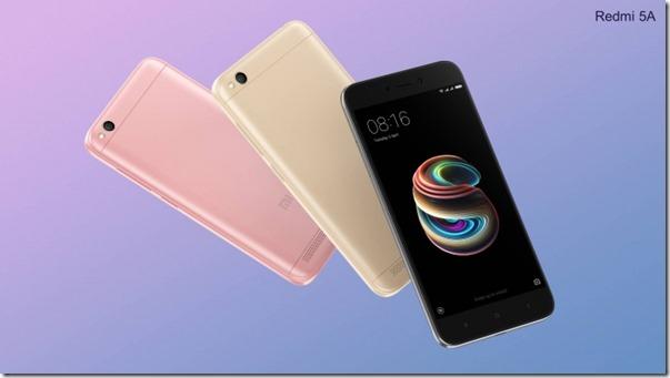 Xiaomi Redmi 5A feat