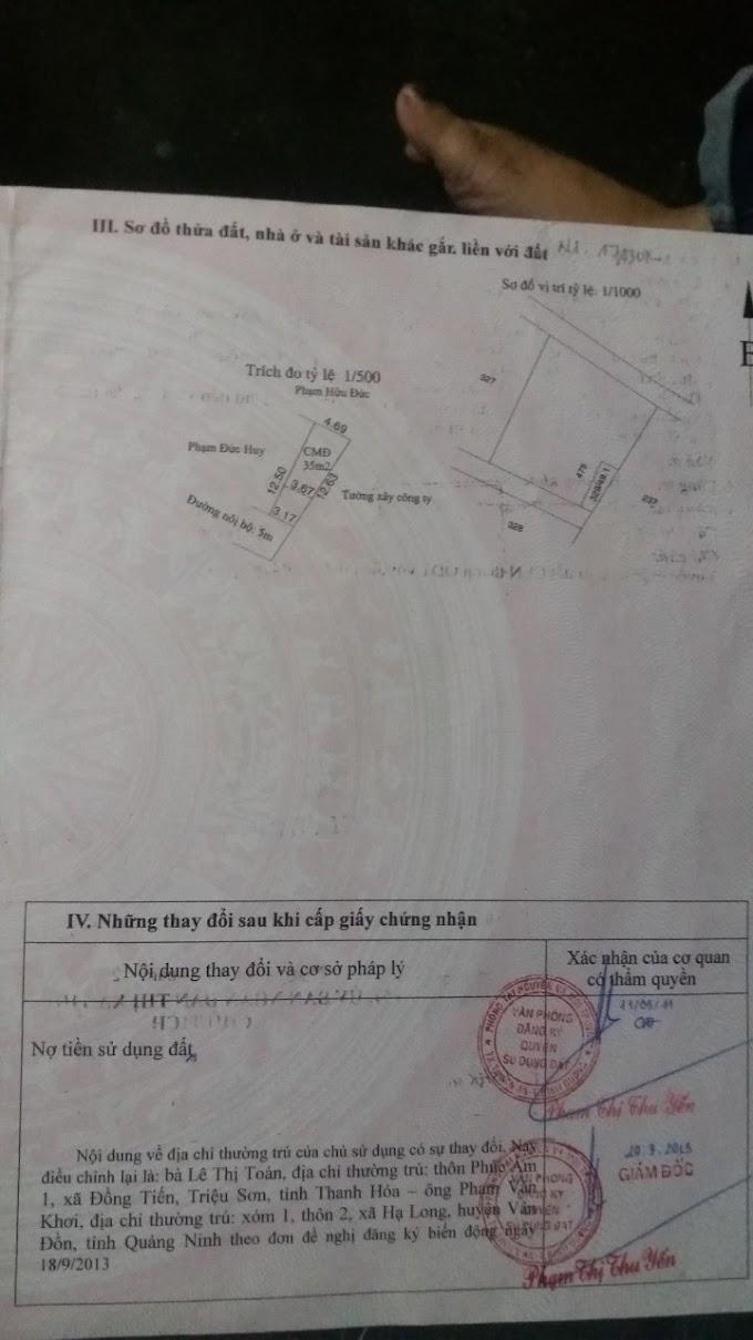 Cần bán lô đất sổ riêng ở An Phú, Thuận An, Bình Dương. Giá chỉ có 990tr