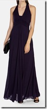 Karen Millen jersey halter neck maxi dress