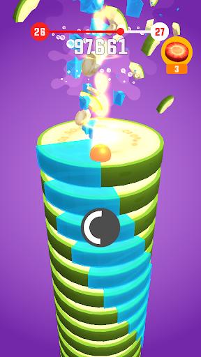 Stack Ball - Fruit Crush screenshot 4