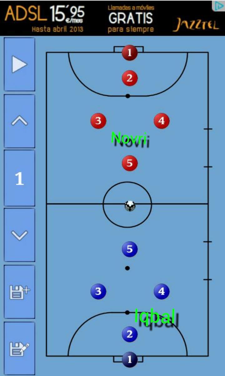 Aplikasi Android Terbaik Membuat Strategi Futsal Desember 2015