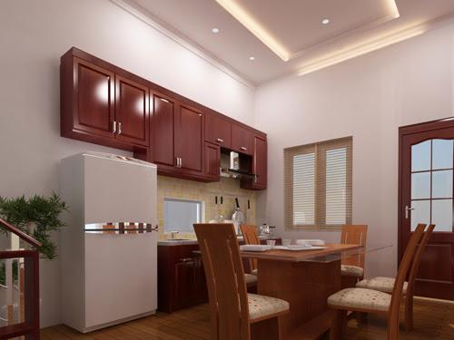 Nội thất phòng ăn và phòng bếp