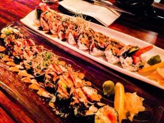 Hashi Izakaya: maki rolls