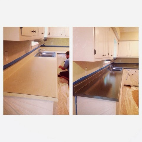 Countertop Transformation with Rust-oleum Countertop Coating Self ...