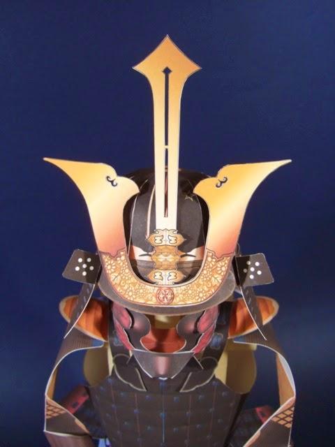 Nimaido Samurai Armor Papercraft