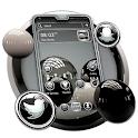 3D Glossy Ball Theme icon