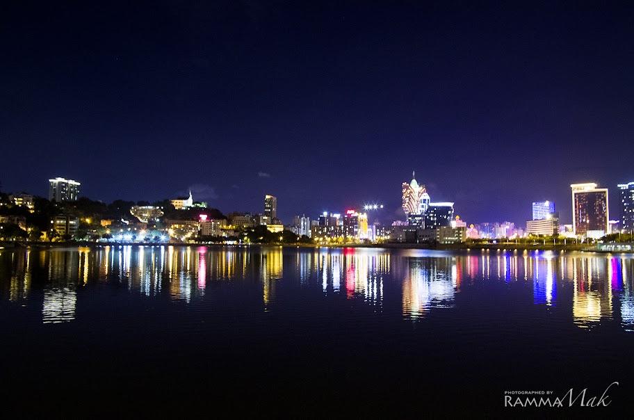 西灣湖夜景很不錯
