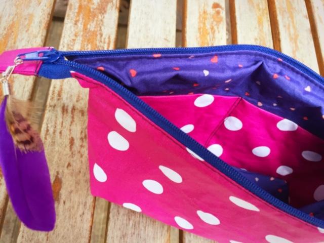 Pochette trousse couture DIY