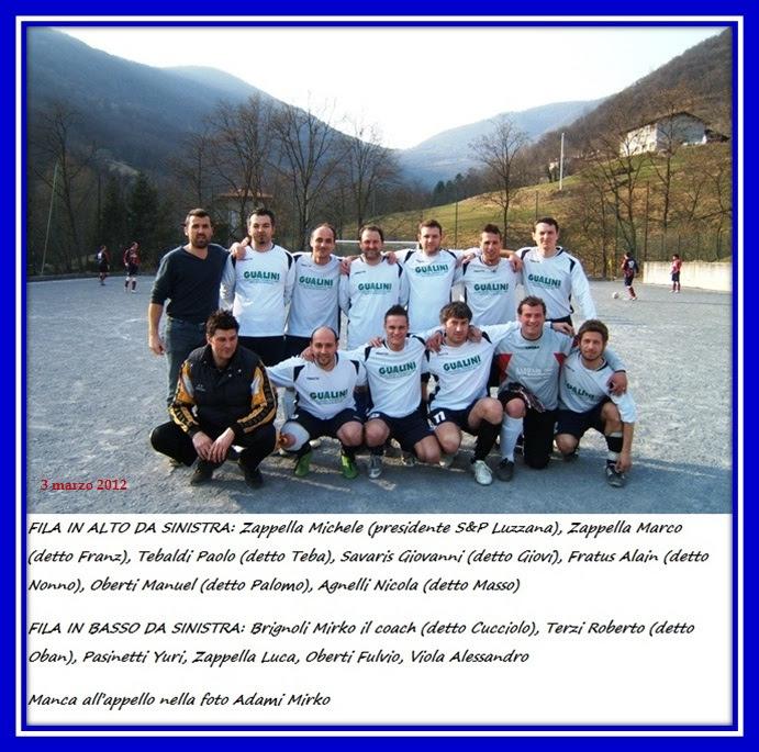 Luzzana 97 campionato 2011-12