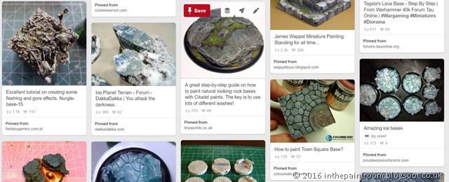 basing board on Pinterest