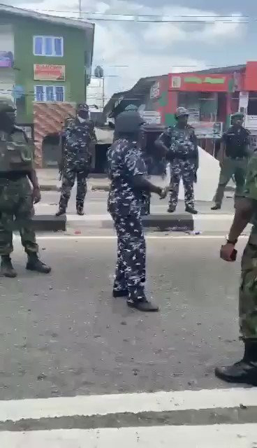 Air Force officer Slammed Policemen For Shooting At A Crowd (Video)