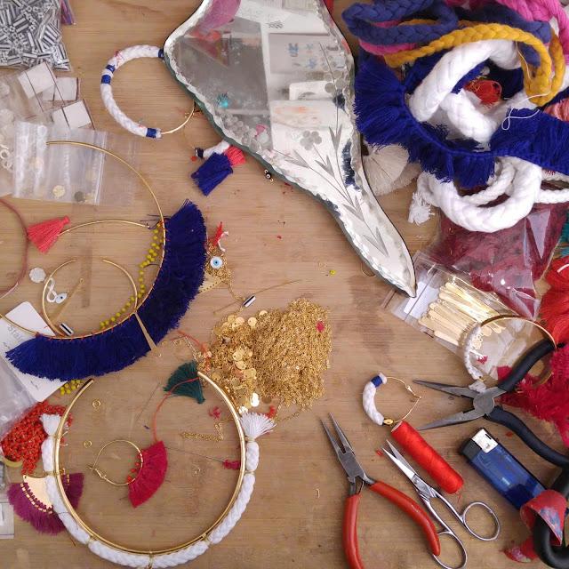 atelier bijoux rue du château bijoux textiles