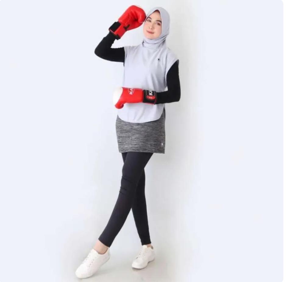 6 Rekomendasi Hijab Sporty yang nyaman digunakan