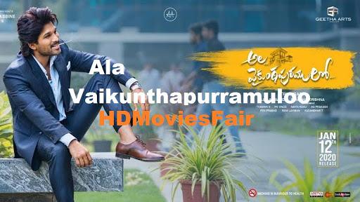 Ala Vaikunthapurramuloo 2020 banner HDMoviesFair