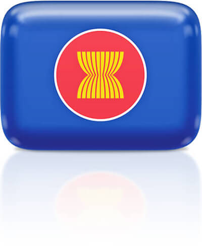 ASEAN flag clipart rectangular