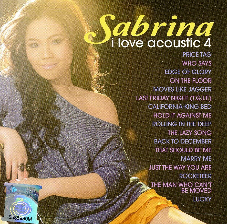 [Full Album] Sabrina - I Love Acoustic 4