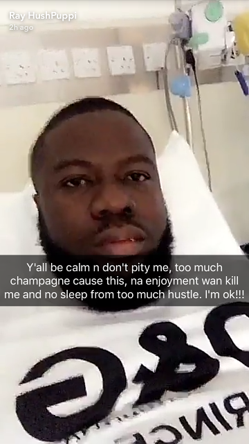Hushpuppi Lands In Hospital After Too Much Intake Of Champagne (Photos)