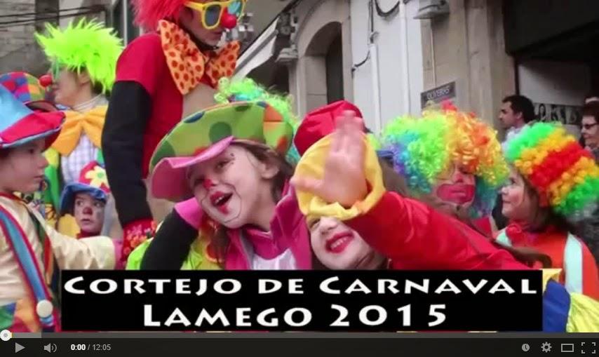 Vídeo - Desfile de Carnaval dos Jardins de Infância e Escolas do 1º Ciclo de Lamego