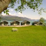 Oddland Camping, hyttetun og uteområde