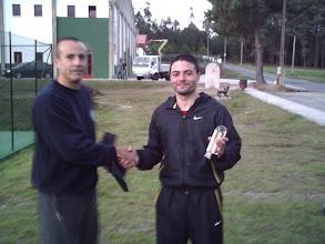 Photo: Torneo de Tenis Vila de Negreira 2009. Campeón grupo B