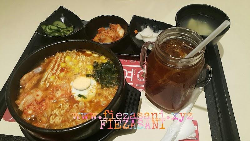 Pertama Kali Cuba Makanan Korea di Dubuyo Sogo