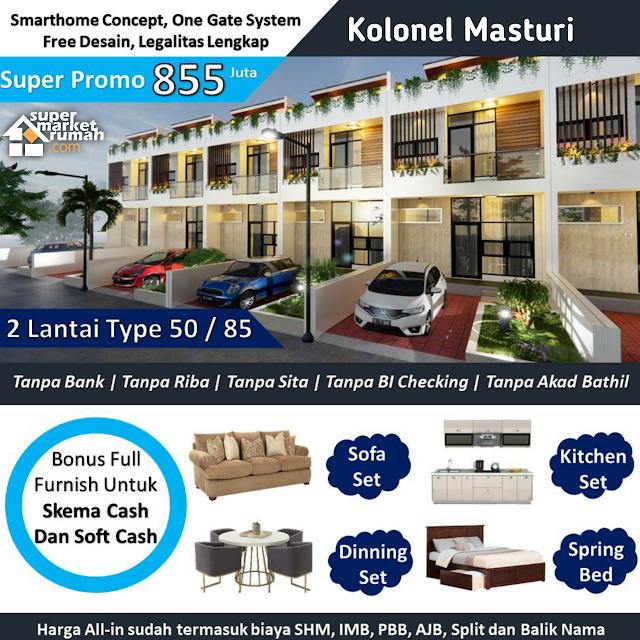 Tanpa Riba, Tanpa Sita dan Tanpa Akad Bathil - Rumah Nuansa Villa Di Cihanjuang Kolonel Masturi dekat Lembang