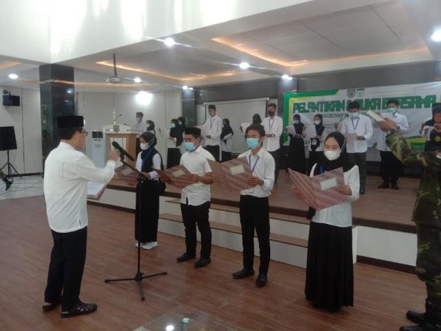 Wabup Supiani Lantik43 Pengurus KMB Balangan-Banjarmasin