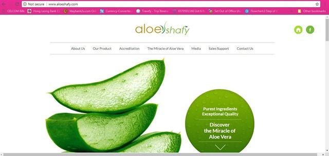 ALOESHAFY–Sihat Dan Cantik Dengan Keajaiban ALOEVERA (2)