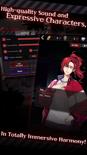 Havenless - Your Choice Otome Thriller Game 1.1.2 screenshots 2