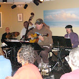 "The weather outside was frightful, as Northwest Florida (along with the rest of the country) ""enjoyed"" a record-breaking cold spell…but inside Jambalaya's Grill and Oyster Bar in Gulf Breeze, the music was HOT!  Several talented newcomers joined the ""regular"" jammers and the Jazz Jam ""house band"", as a full house enjoyed the music."
