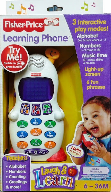 Điện thoại vui nhộn Learning Phone Fisher Price C6324