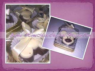 Zahra chocolate house cenderahati majlis aqiqah dan cukur for Idea door gift cukur jambul