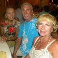 Jan Smith (wife of Bruce Smith), Doug and Shelly Longmore