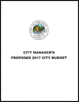 2017 Proposed City of Lebanon Budget