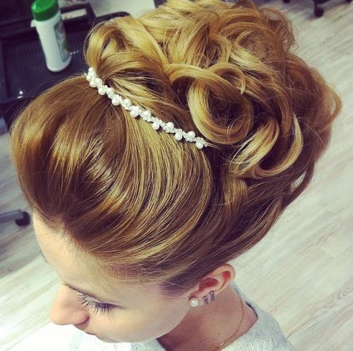 Top Smart Wedding Hair Updos In Current Year For Brides 2017-2018 12