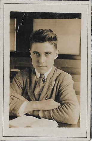 Warner Olin Sr photo 1918 14 years old