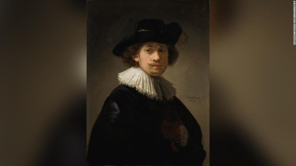 Autorretrato de Rembrandt se vende por cifra récord