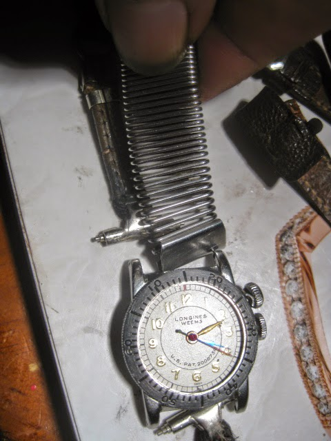 1935 LONGINES WEEMS ORIGINAL 1935 LEATHER METAL ROP STRAP - IMG_1005.JPG