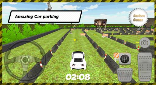 3D肌肉車停車