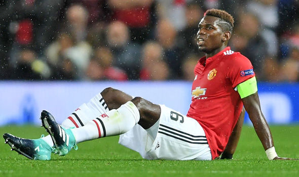Man Utd's Pogba faces up to six weeks out