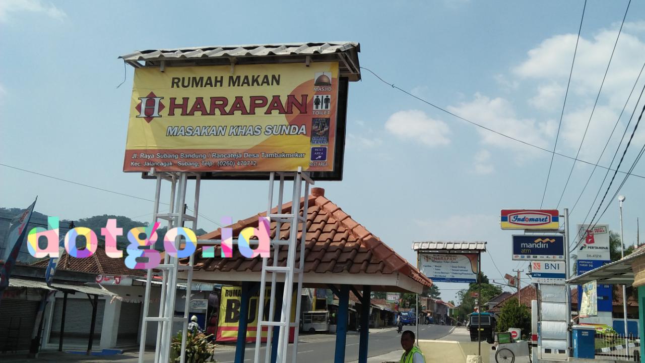 Rumah Makan Harapan Tempat Makan Khas Sunda Di Jalancagak