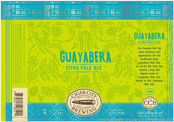 Cigar City Guayabera Citra Pale Ale Coming To 16oz Cans