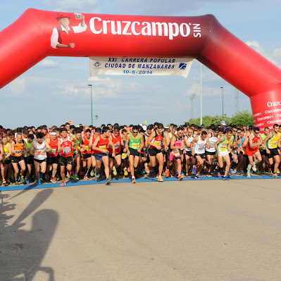 Carrera de Manzanares 2014 - Carrera