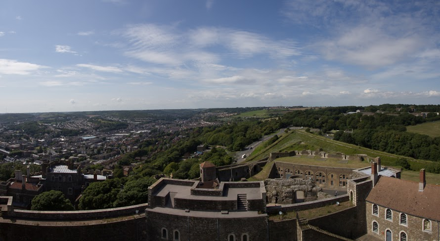 Panorama from the castle