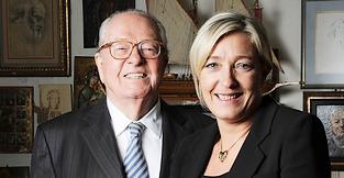Le procès Jean-Marie Le Pen - FN : Marine le pen défendue par un avocat d'extrême gauche