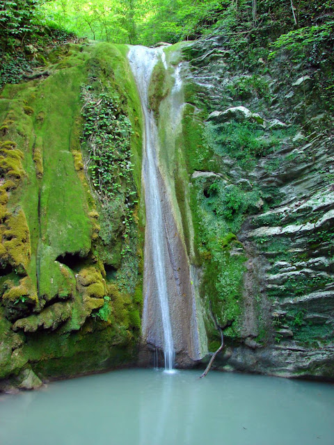 Как фотографировать водопады - Кавказ. Водопад в Мамедовом ущелье.
