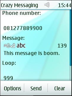 Crazy Messaging