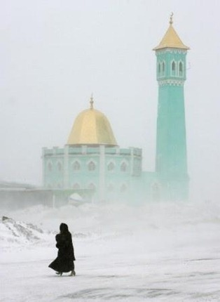 The Nurd Kamal Mosque in Norilsk, Russia