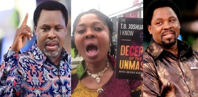 TB Joshua Is Not A Real MOG, He Sexually Molested Me For 14 Yrs – Former Assistant, Bisola Johnson Exposes Him [Video]