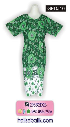 gambar baju batik wanita, model batik modern, busana batik modern